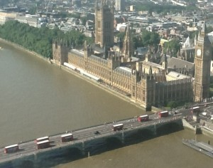 Photo taken by IP Draughts from London Eye during London Olympics 2012