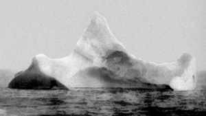The iceberg that sank the Titanic