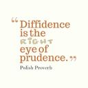 diffidence